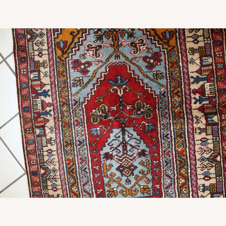Handmade Vintage Prayer Turkish Konya Rug - image-6