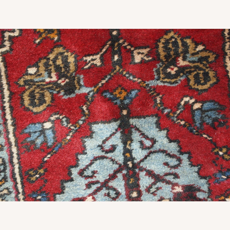 Handmade Vintage Prayer Turkish Konya Rug - image-2