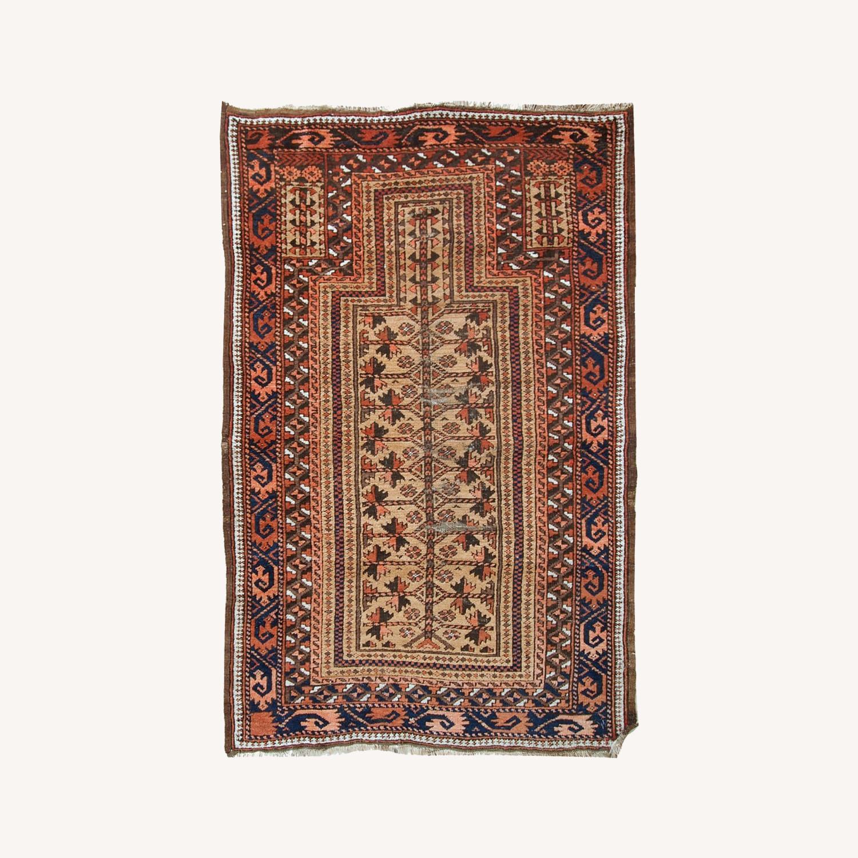 Handmade antique Afghan Baluch prayer rug - image-0