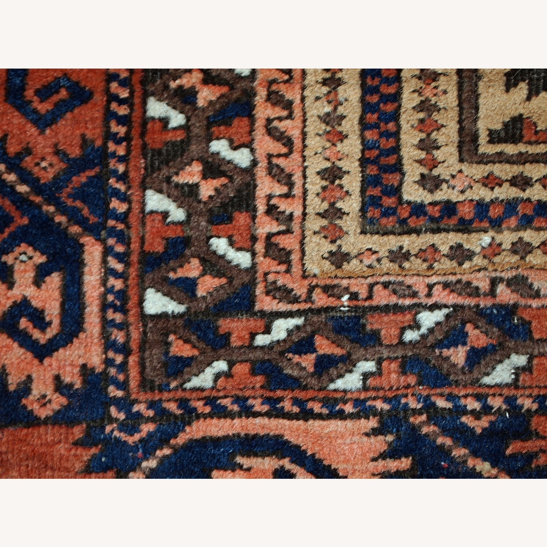 Handmade antique Afghan Baluch prayer rug - image-8