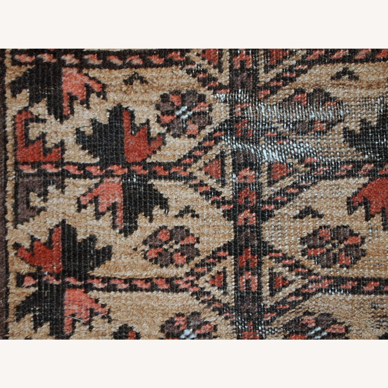 Handmade antique Afghan Baluch prayer rug - image-6