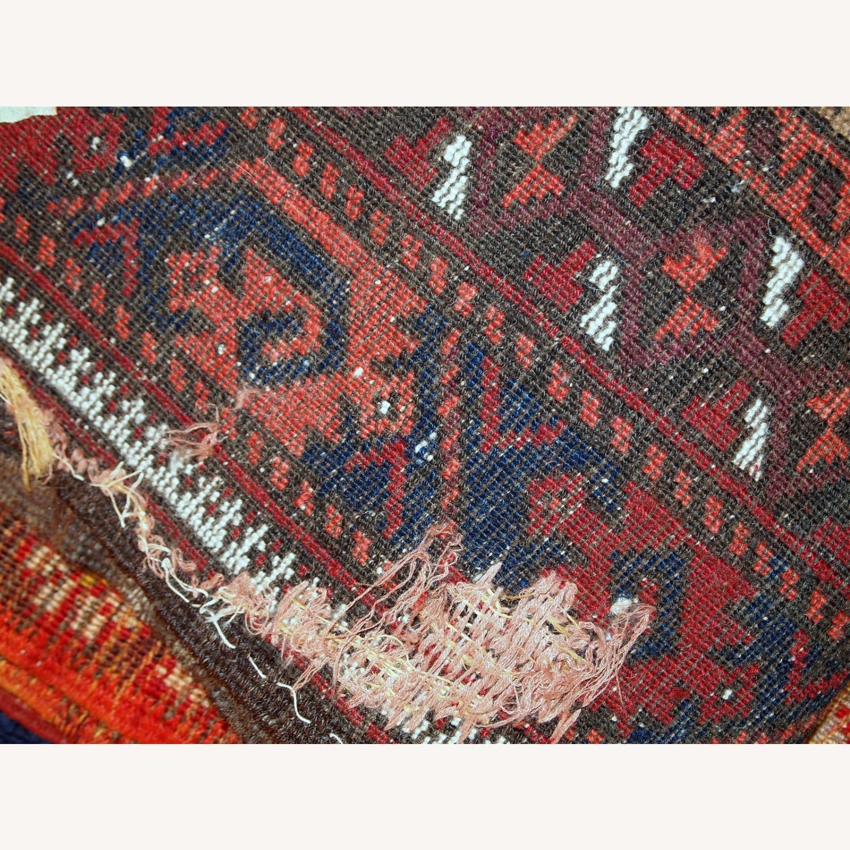 Handmade antique Afghan Baluch prayer rug - image-13