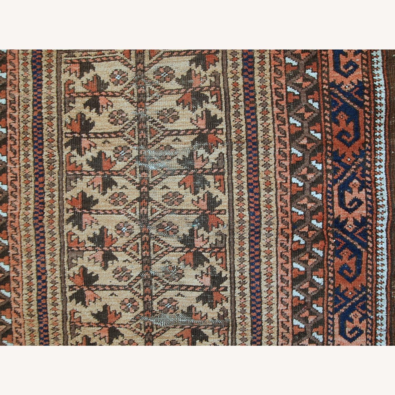 Handmade antique Afghan Baluch prayer rug - image-9