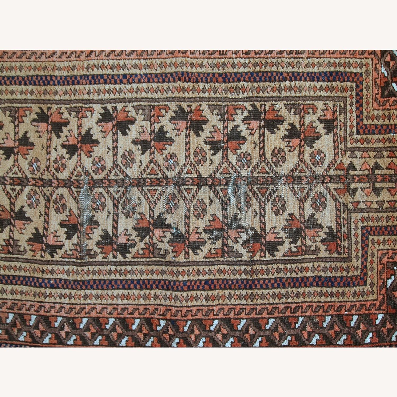 Handmade antique Afghan Baluch prayer rug - image-11