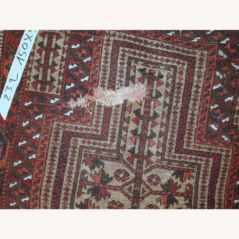 Handmade antique Afghan Baluch prayer rug - image-4