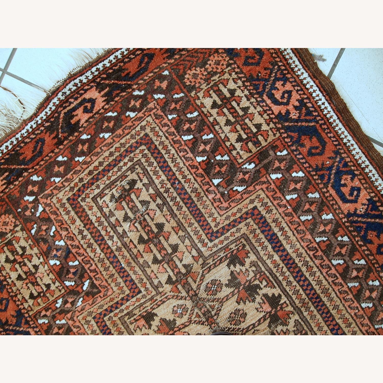 Handmade antique Afghan Baluch prayer rug - image-12