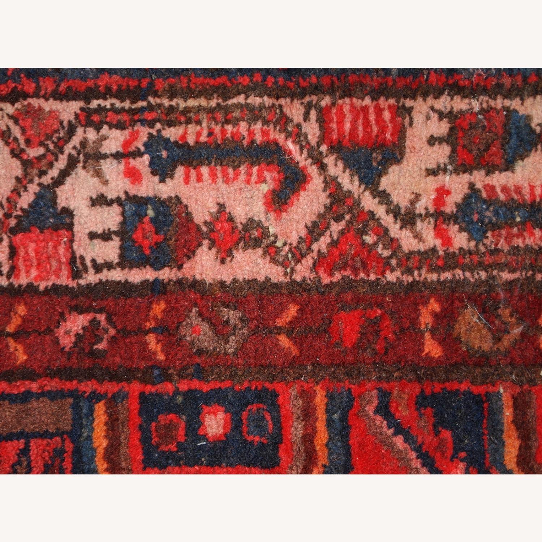 Handmade vintage Persian Hamadan rug - image-2