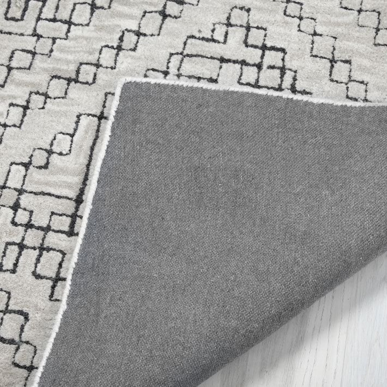 West Elm Stone Tile Rug, Slate - image-2
