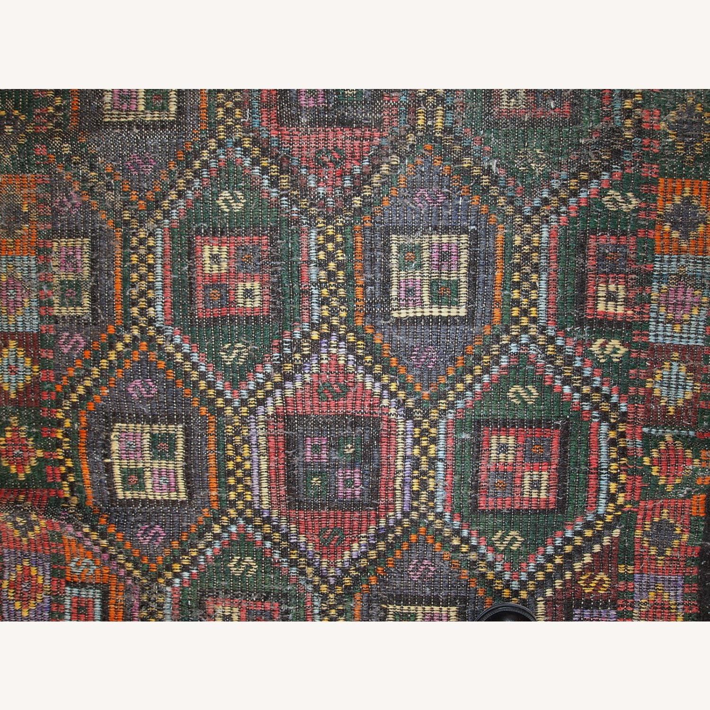 Handmade antique Tunisian flat-weave kilim - image-7