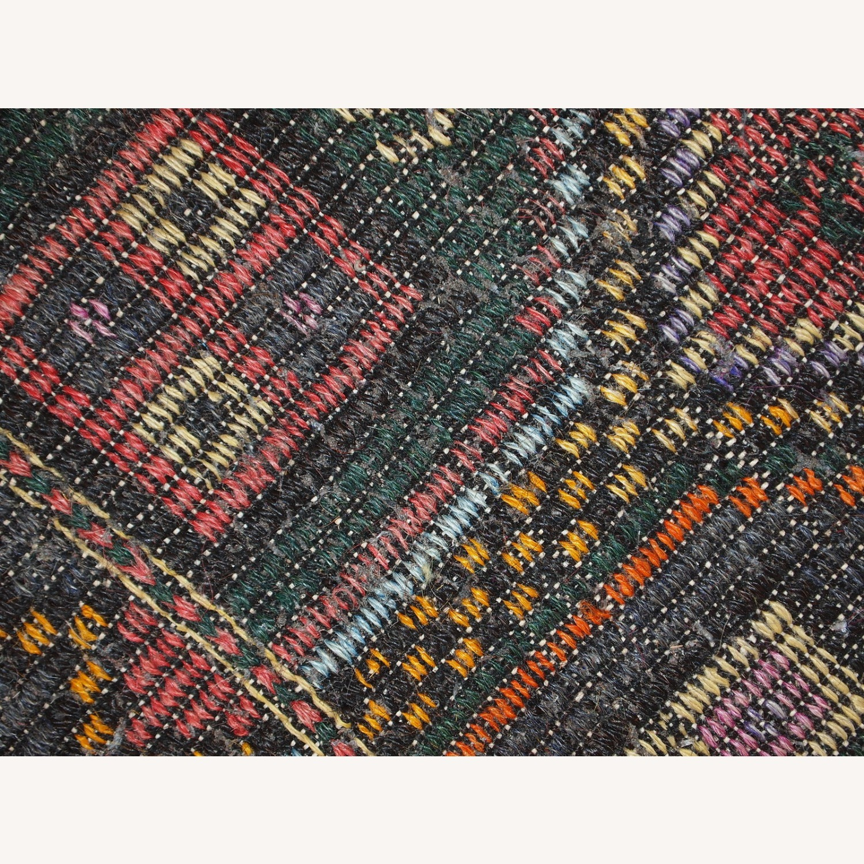 Handmade antique Tunisian flat-weave kilim - image-3