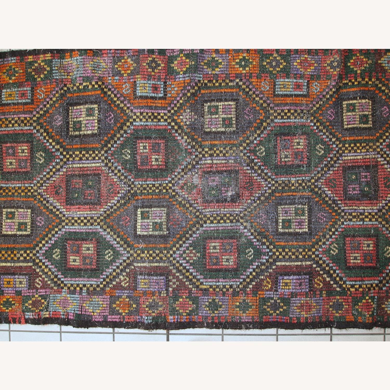 Handmade antique Tunisian flat-weave kilim - image-2
