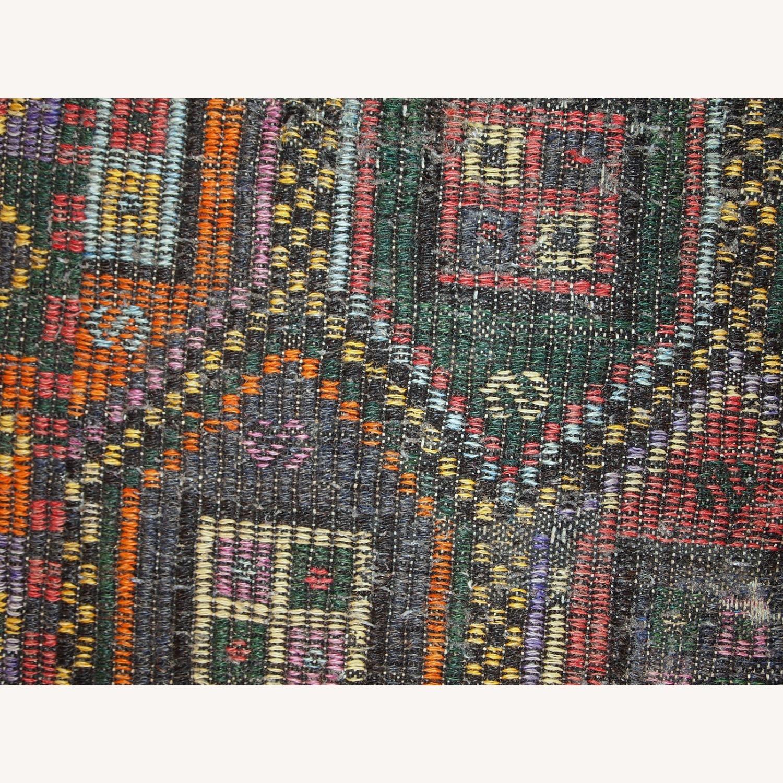 Handmade antique Tunisian flat-weave kilim - image-8