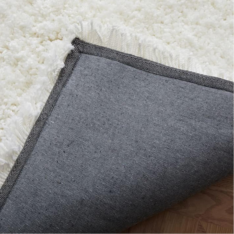 West Elm Cozy Plush Rug, White - image-3