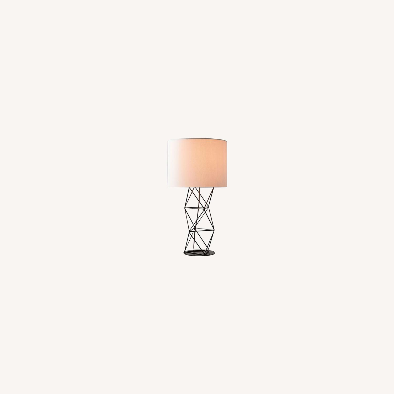 West Elm Amigo Modern Octahedron Table Lamp - image-0