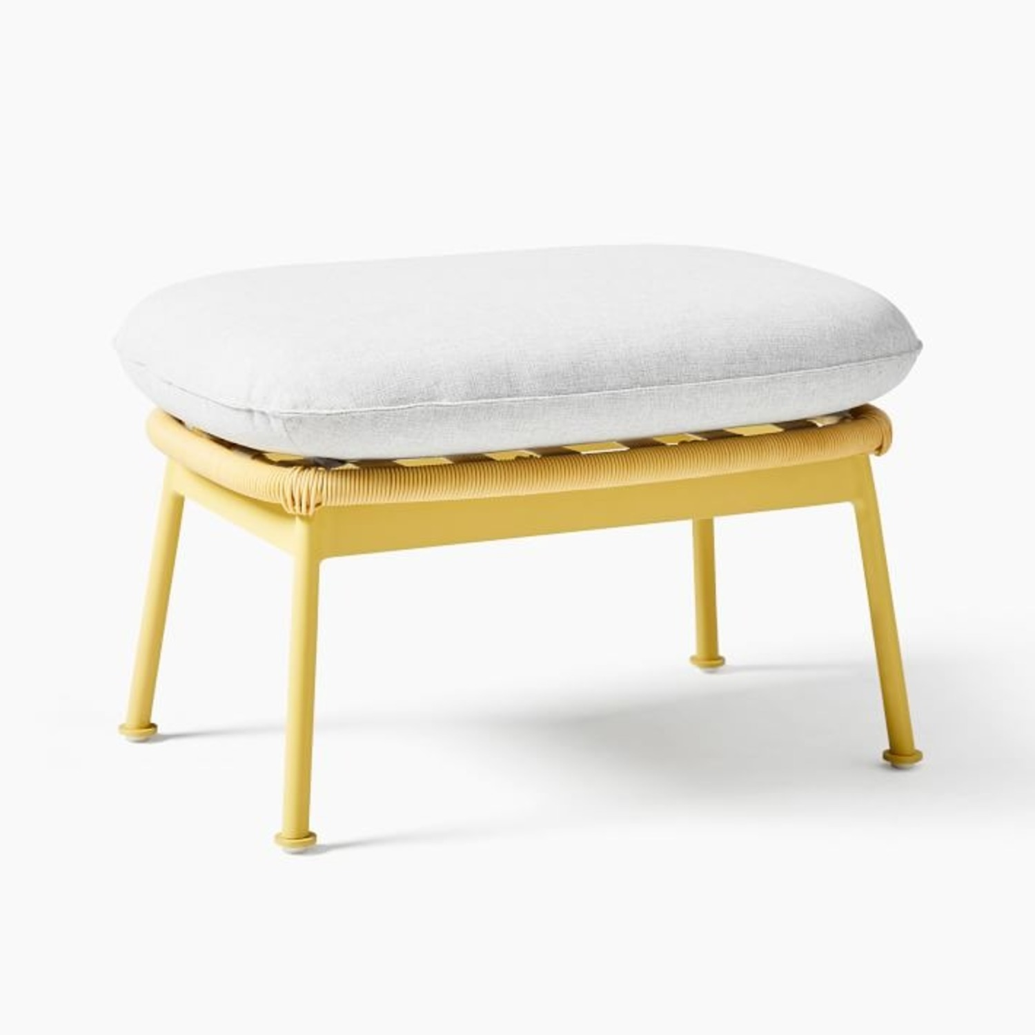 West Elm Nest Sunshine Lounge Chair + Ottoman - image-2