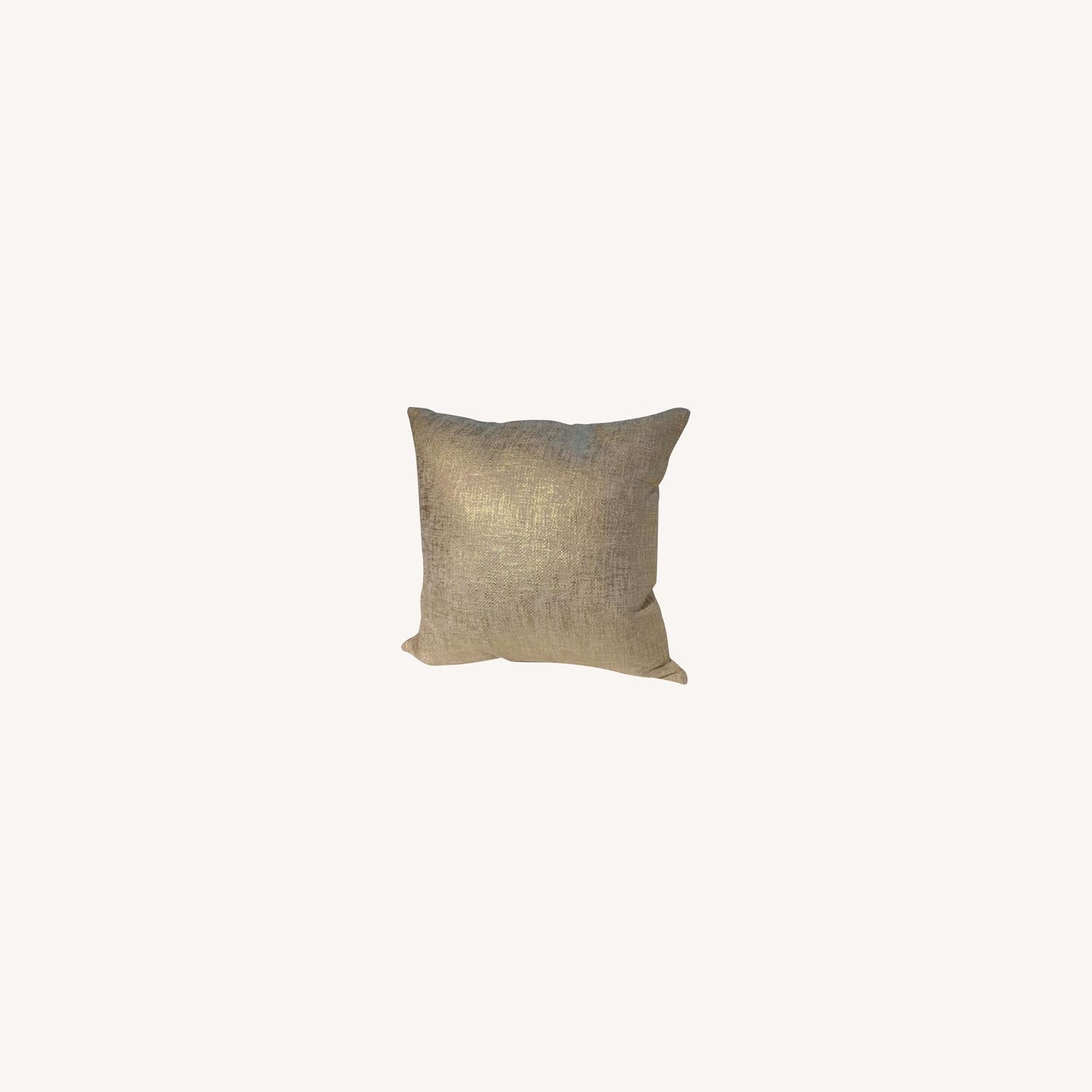 CB2 Glitterati Accent Pillows - Gold - image-0