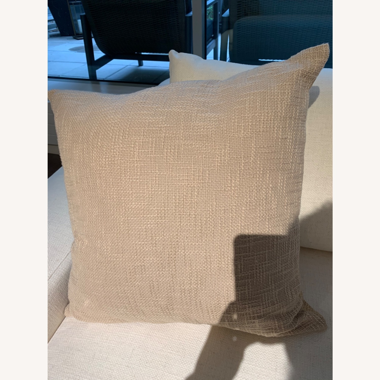 CB2 Glitterati Accent Pillows - Gold - image-5