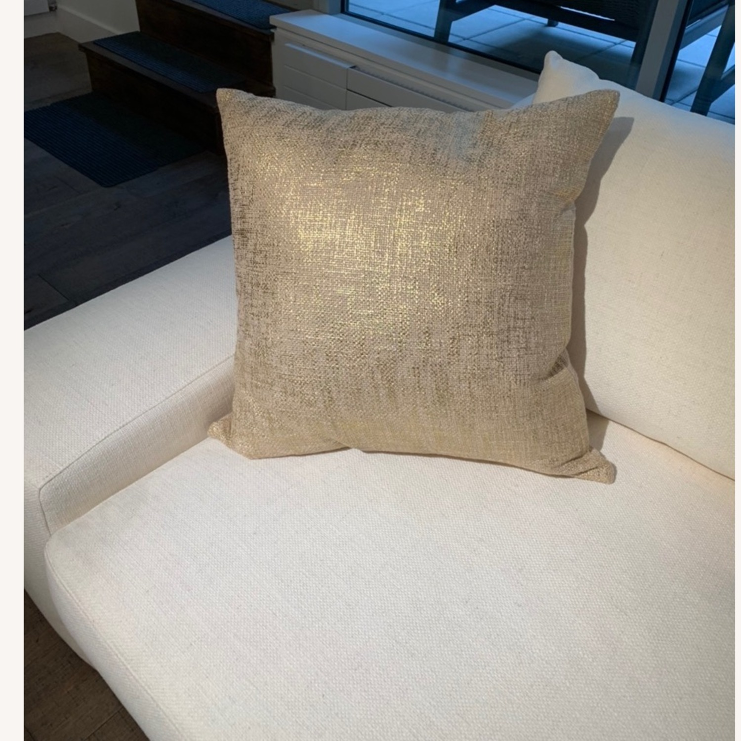 CB2 Glitterati Accent Pillows - Gold - image-1