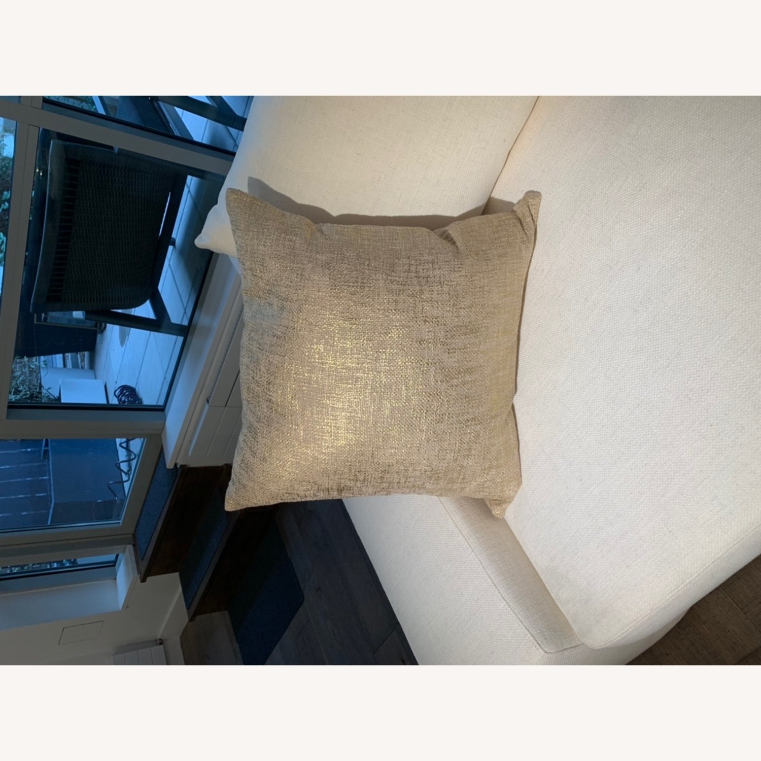 CB2 Glitterati Accent Pillows - Gold - image-6