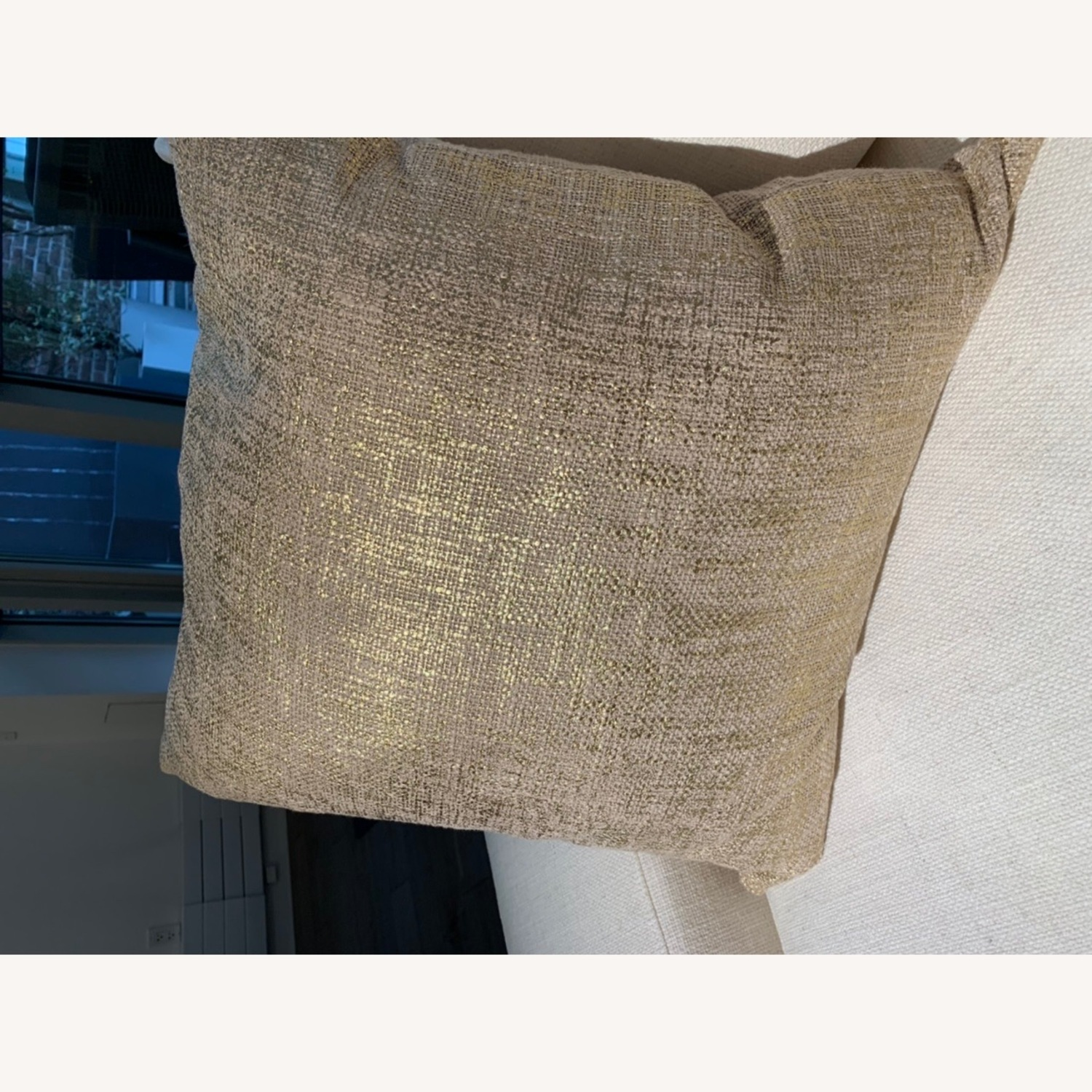 CB2 Glitterati Accent Pillows - Gold - image-7