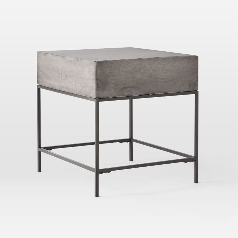 West Elm Industrial Storage Side Table - image-1