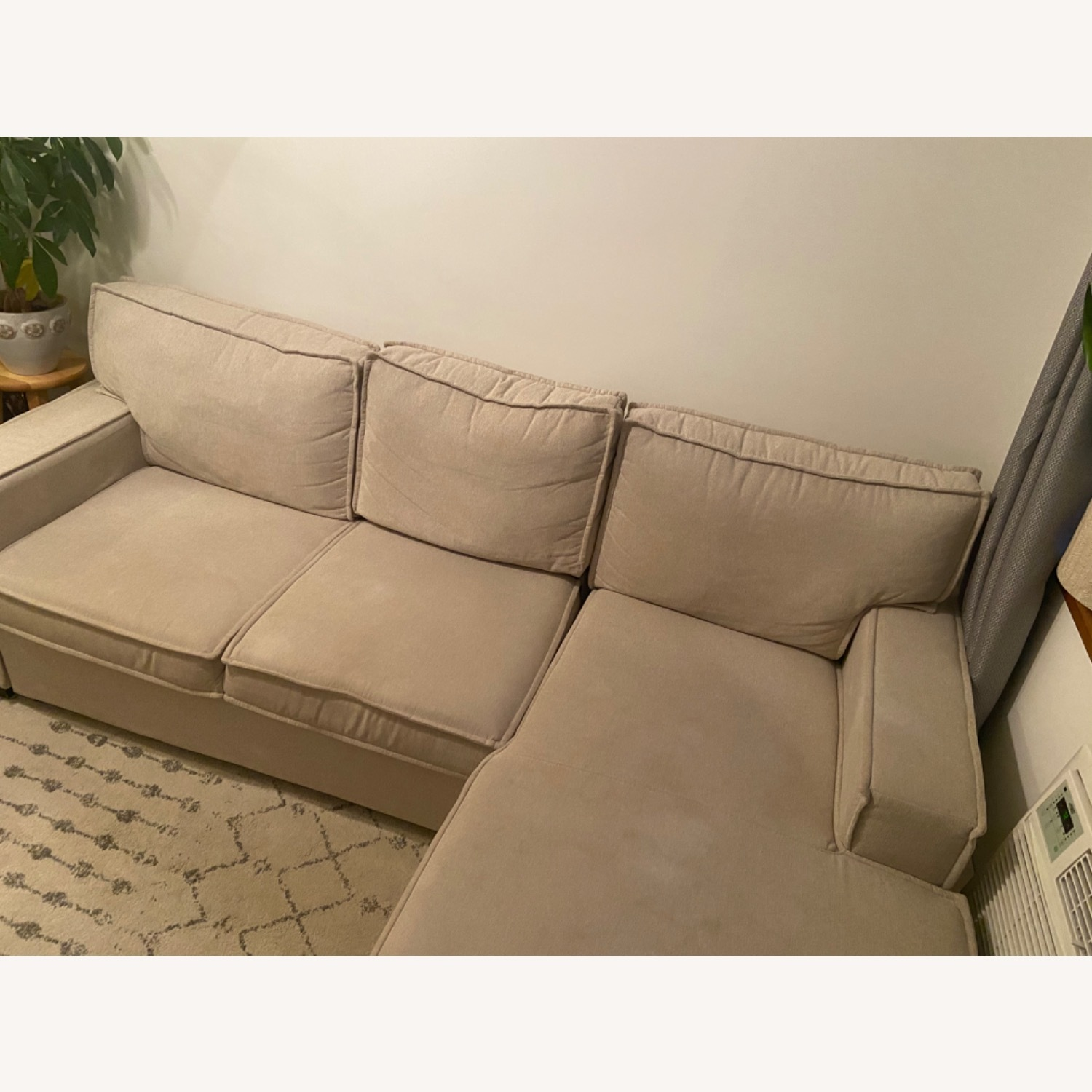 Bob's Discount Sectional with Storage - image-2