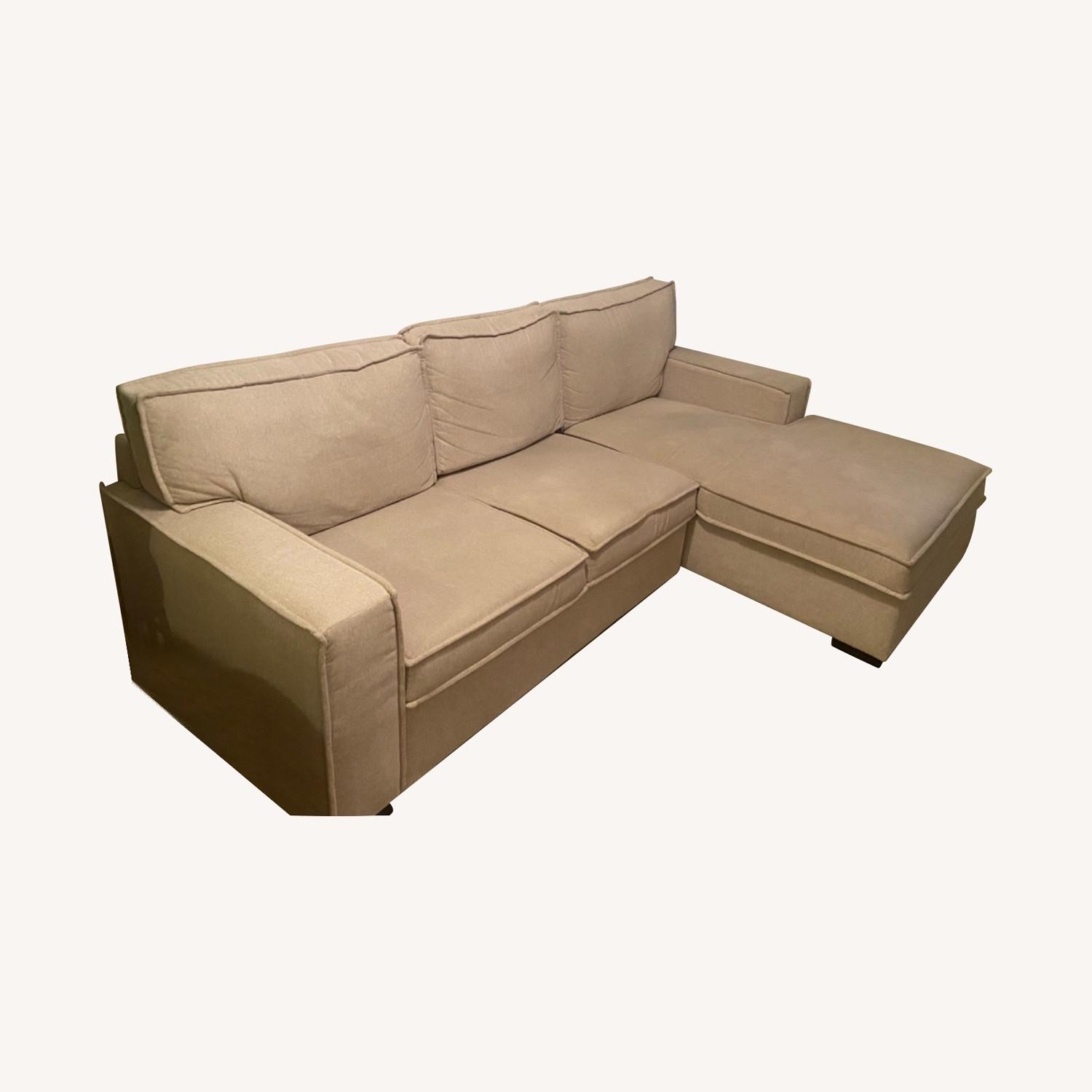 Bob's Discount Sectional with Storage - image-0