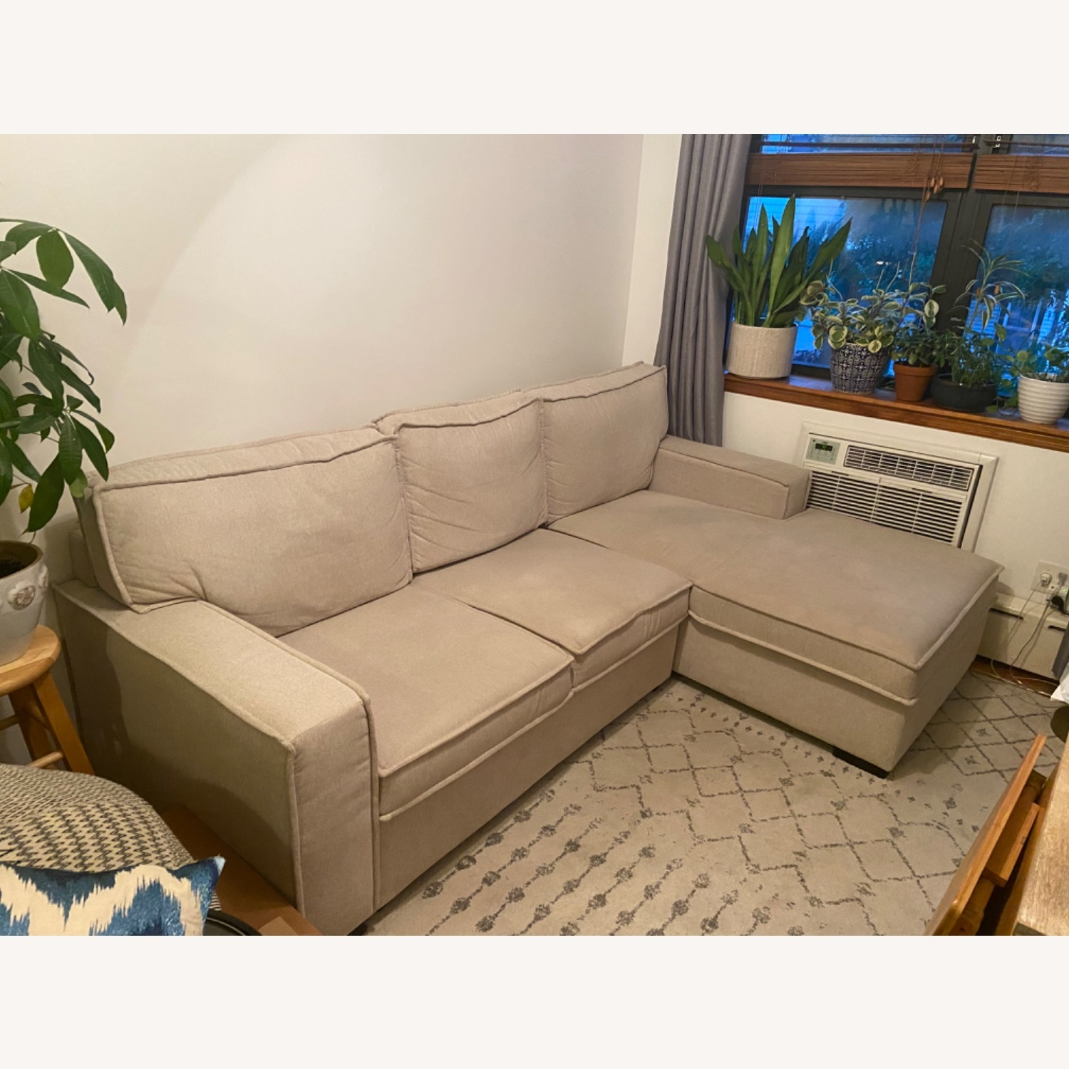 Bob's Discount Sectional with Storage - image-1