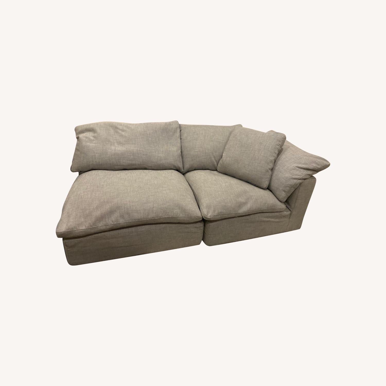 Restoration Hardware Cloud Couch Sectional - image-4