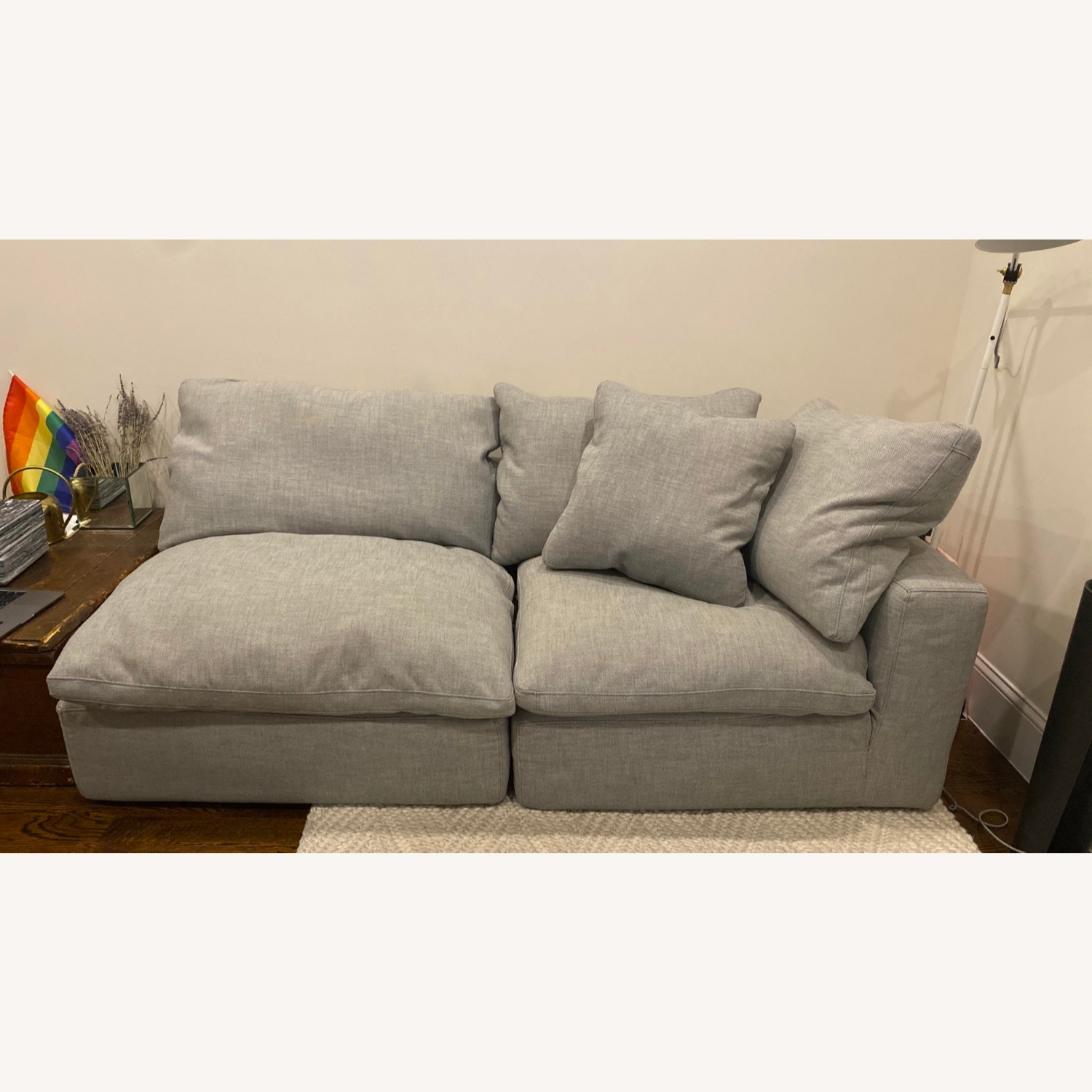 Restoration Hardware Cloud Couch Sectional - image-0