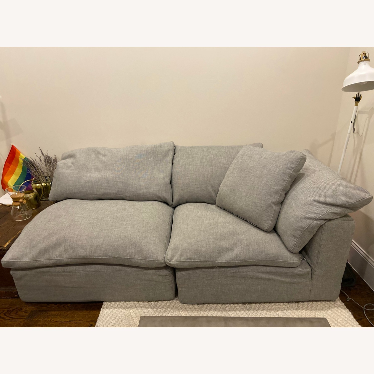Restoration Hardware Cloud Couch Sectional - image-1