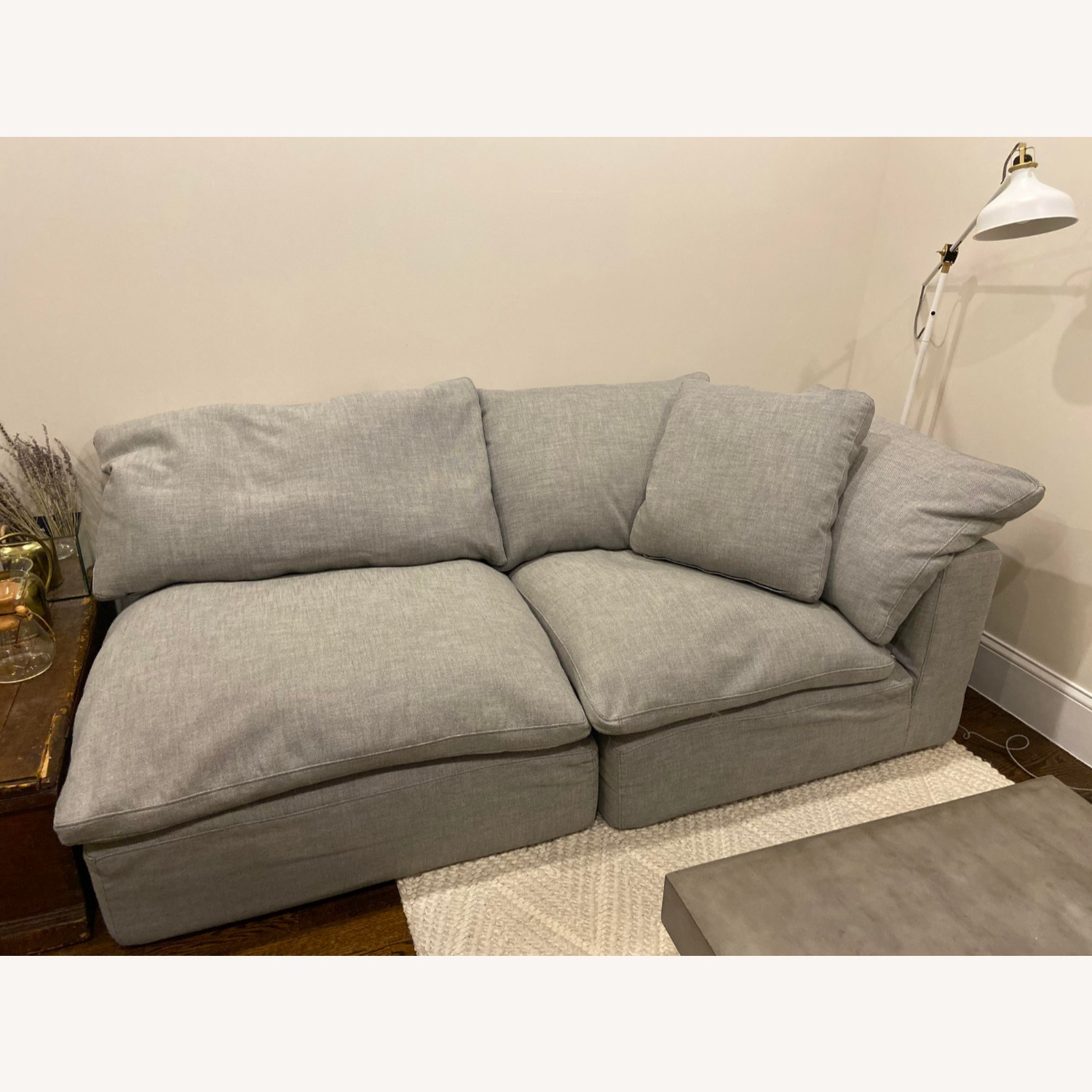 Restoration Hardware Cloud Couch Sectional - image-2