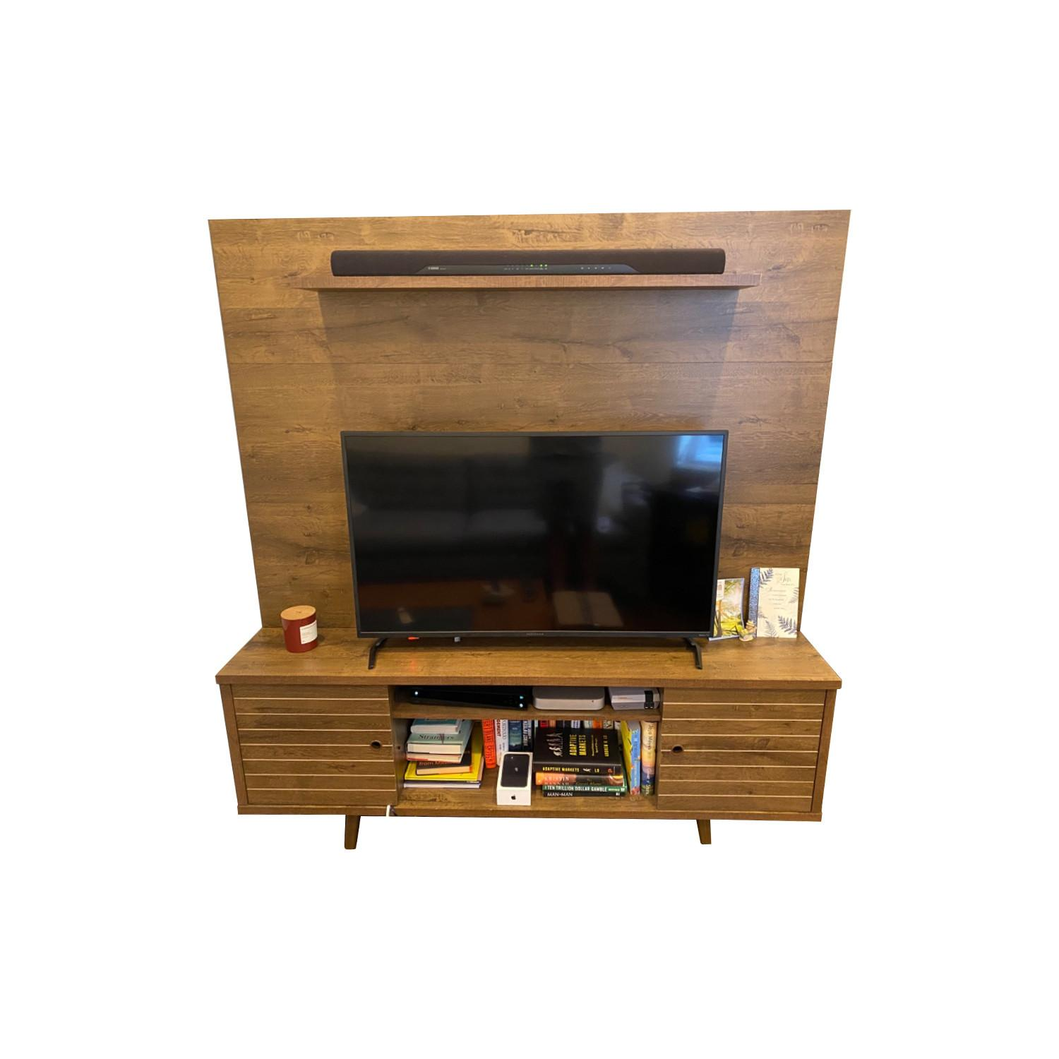 Wayfair Entertainment Center w/ TV Cable Mgmt - image-0