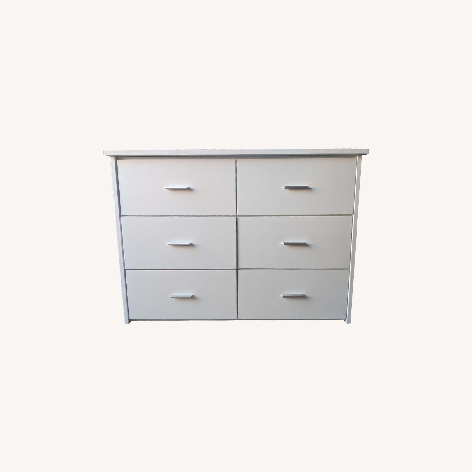 6-Drawer Storage Unit in White Finish - image-5