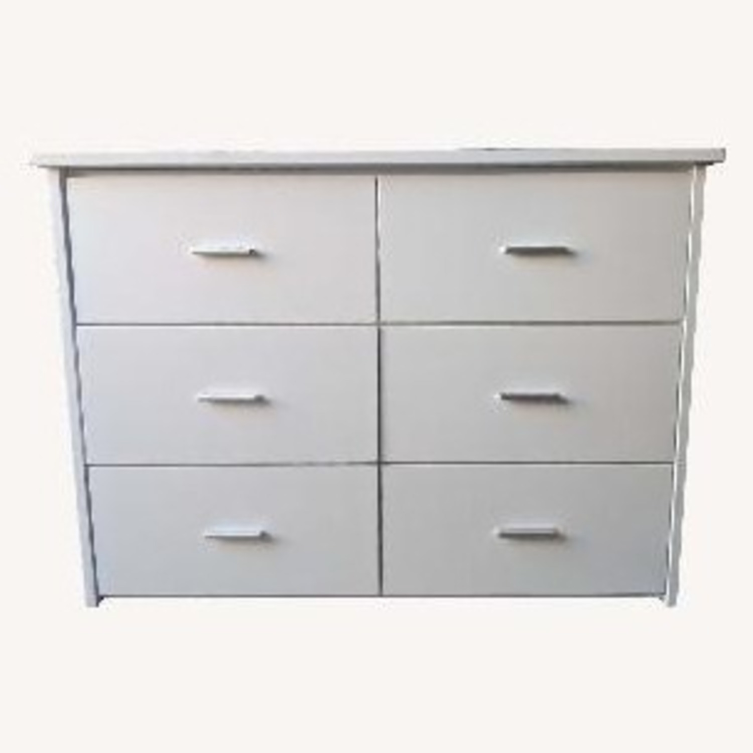 6-Drawer Storage Unit in White Finish - image-0