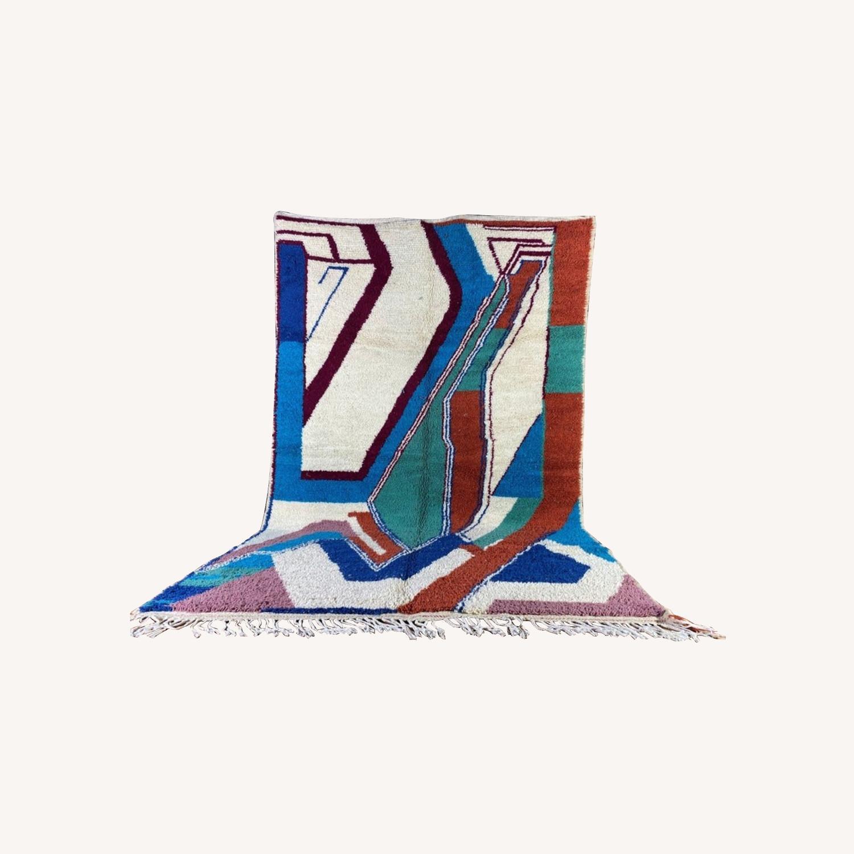 Handmade Moroccan Rug - image-0