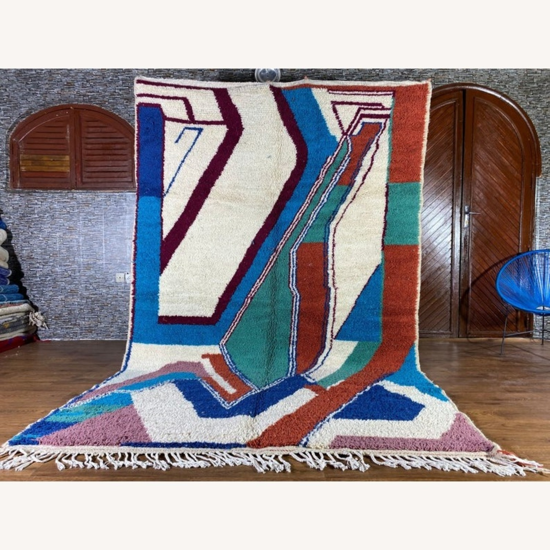 Handmade Moroccan Rug - image-1