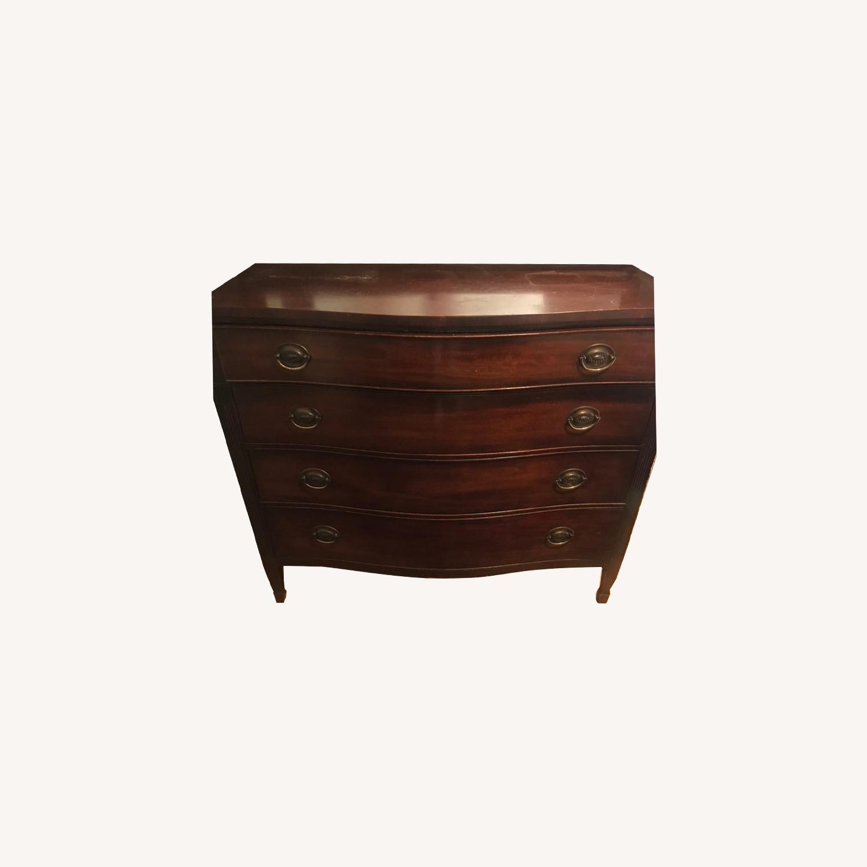 Kindel Furniture Mahogany Chest of Drawers - image-0