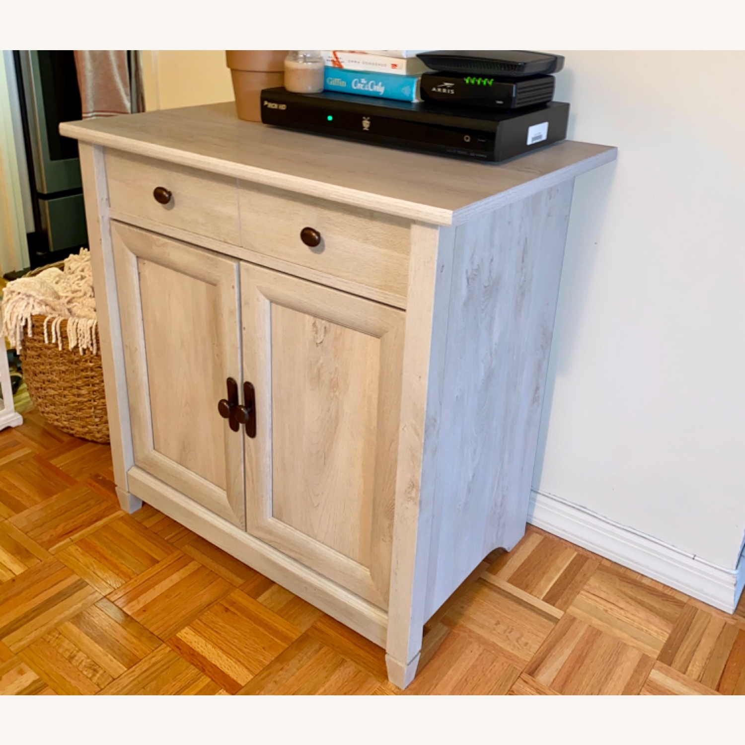 Solid wood TV Console Cabinet - image-2