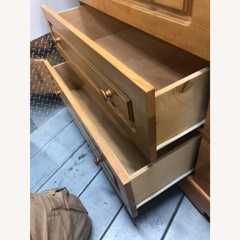 9 Drawer Light Brown Dresser - image-9