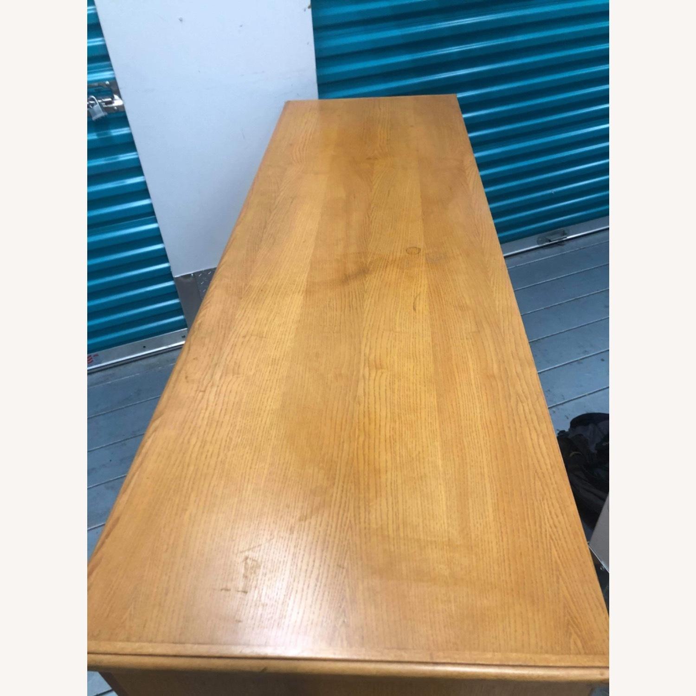 9 Drawer Light Brown Dresser - image-7