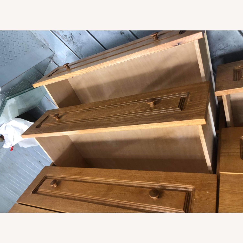 9 Drawer Light Brown Dresser - image-10