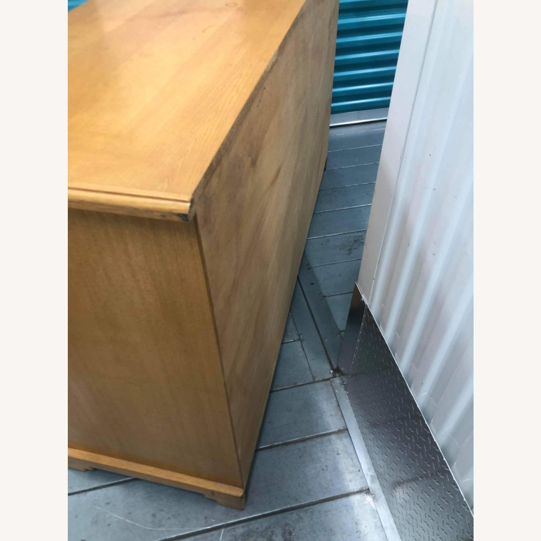 9 Drawer Light Brown Dresser - image-3