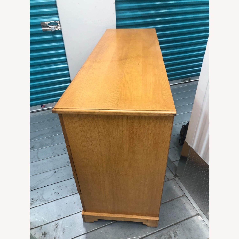 9 Drawer Light Brown Dresser - image-6