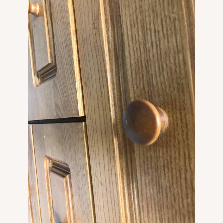 9 Drawer Light Brown Dresser - image-12