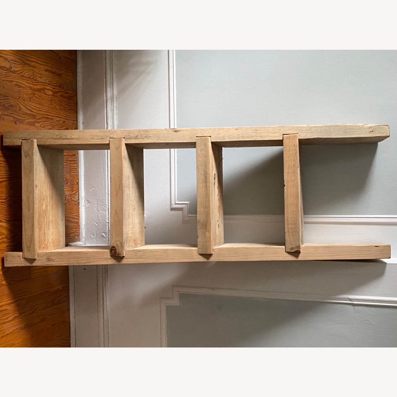 Custom Birch Leaning Bookshelf - image-3