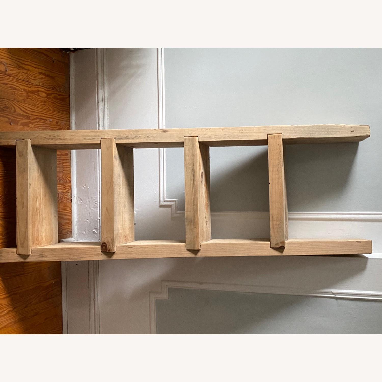 Custom Birch Leaning Bookshelf - image-5
