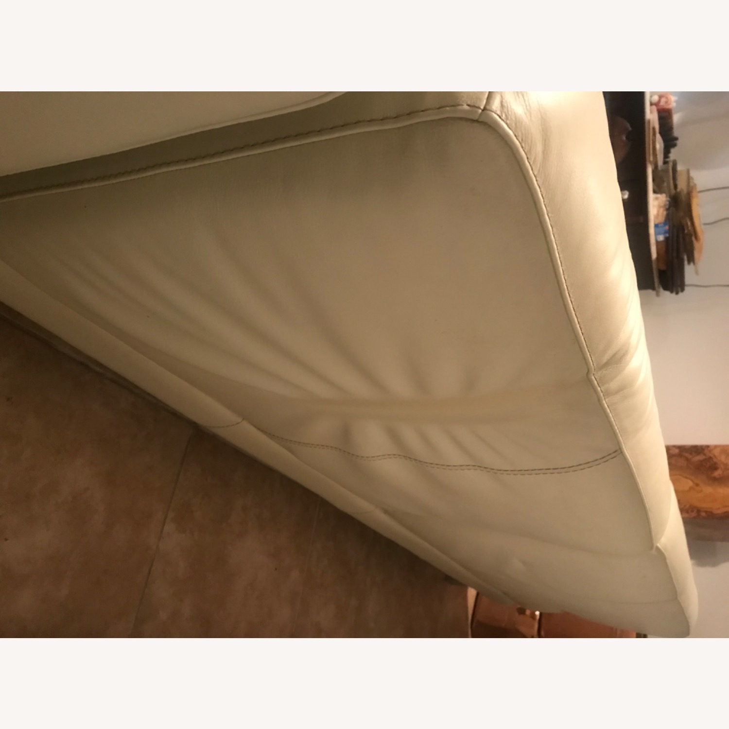 Maurice Villency Leather Sectional - image-5