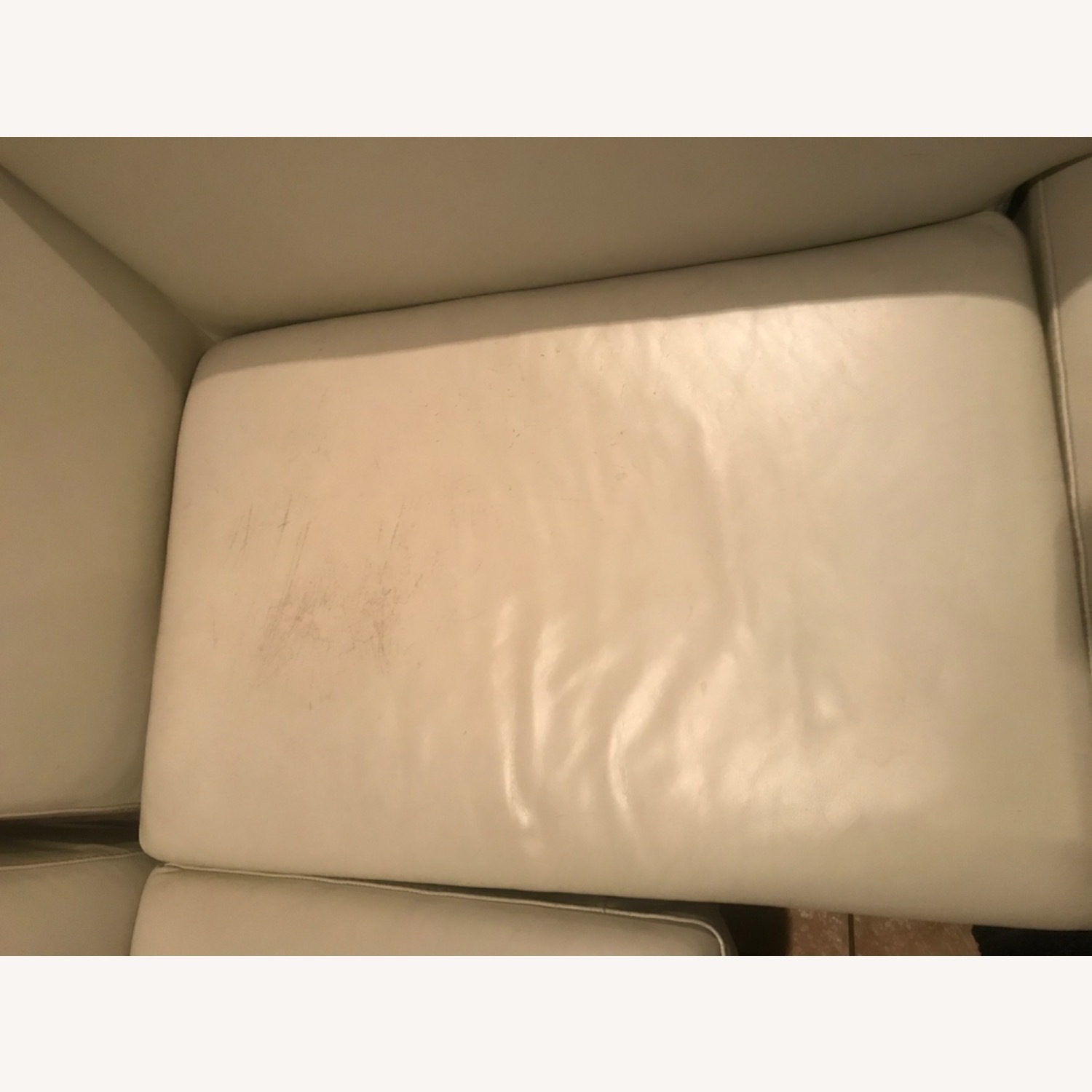 Maurice Villency Leather Sectional - image-6