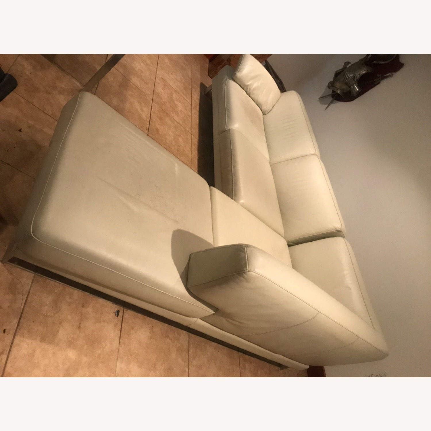 Maurice Villency Leather Sectional - image-2